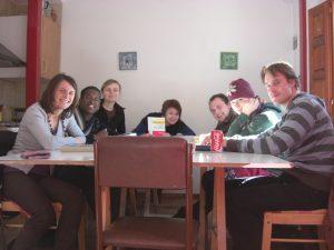 Familiäre Atmosphäre im Unterricht