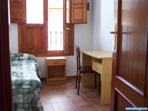 Ein Zimmer der Escuela Delengua in einer Wohngemeinschaft