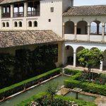 Der Garten der Sultanin im Generalife in Granada