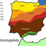 Die Reconquista vollzog sich von Norden nach Süden. Zuletzt fiel Granada.