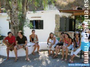 Während den Freizeitaktivitäten der Escuela Delengua lernt man sich kennen und gewinnt neue Freunde