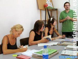 Spanisch Unterricht an der Escuela Delengua