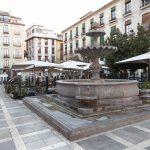Die Plaza Nueva im Zentrum von Granada, zwei Gehminunten von der Escuela Delengua entfernt