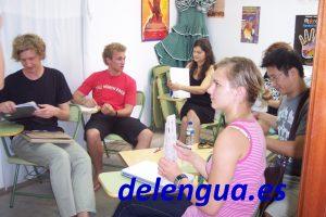 Im richtigen Niveau: Delenguas Spanisch-Schüler