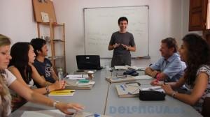 Spanischunterricht in der sprachschule Delengua
