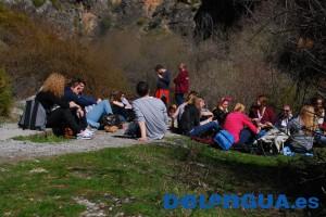 Wanderung in der Sierra Nevada mit Escuela Delengua