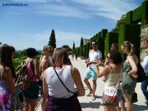 Besichtigung der Alhambra mit Escuela Delengua